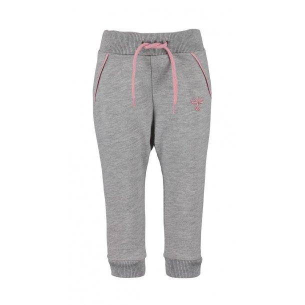 Hummel RAVO Pants - Niedlich und cool Jersey Hosen in grau