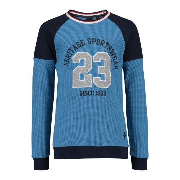 Hummel NOC Sweatshirt in blau und Navy