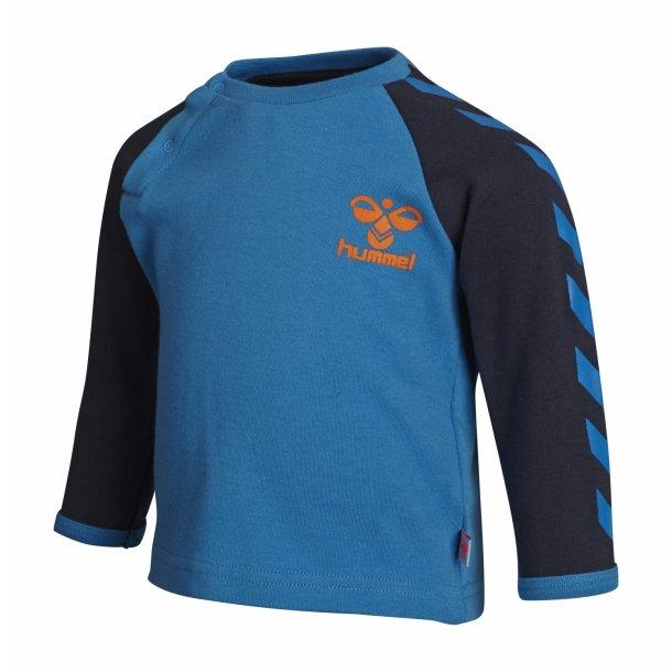 Hummel ABEL Shirt - klassisch Hummel Shirt in Blau-Navy