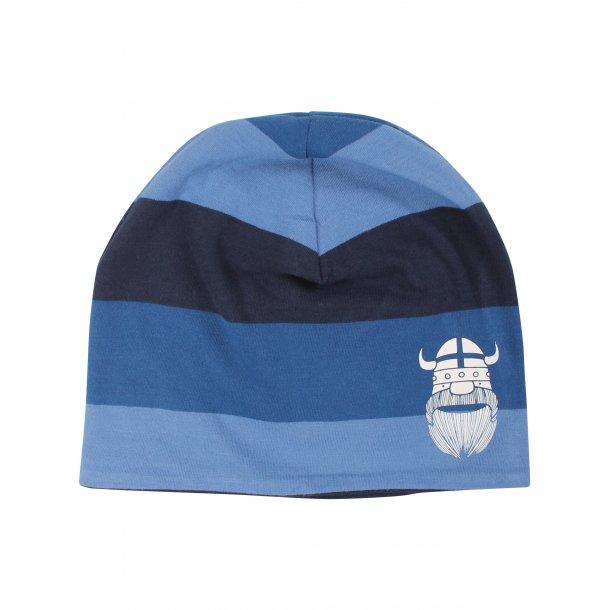 Danefae - liebes, wendbare und blaugestreiften Jersey Mütze