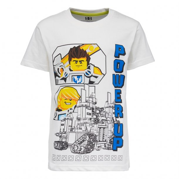 LEGO - schöne NEXO KNIGHTS T-Shirt in off-white