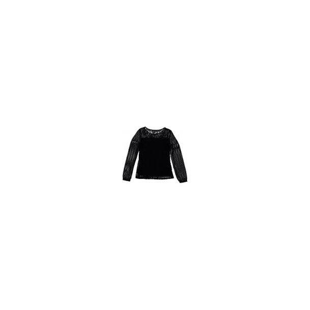 Schick Bluse in schwarz - Florida Shirt - Von Frankie & Liberty