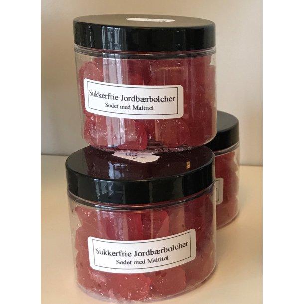 Ringkøbing Bonbons, ohne Zucker, Erdbeeren, 100 Gramm