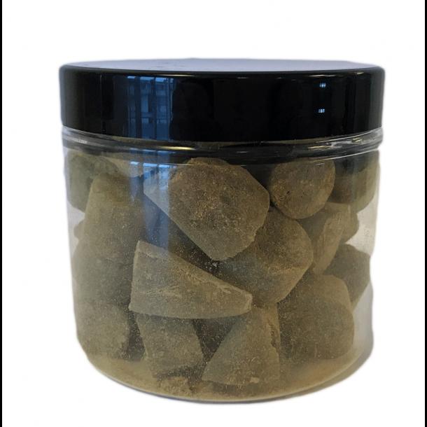 Ringkøbing Bonbons, Lakritzenbonbon mit Lakritz Pulver, 130 Gramm