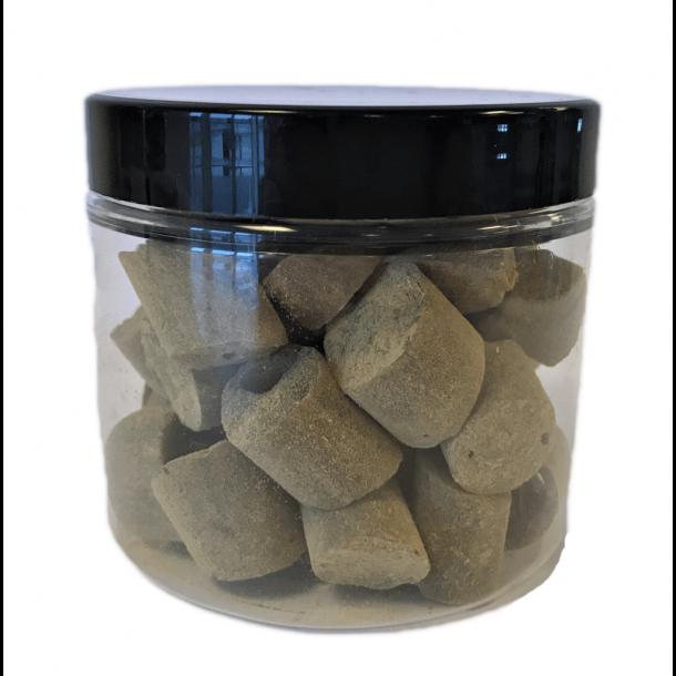 Ringkøbing Bonbons, Süßes Lakritzenbonbon mit Lakritz Pulver, 130 Gramm
