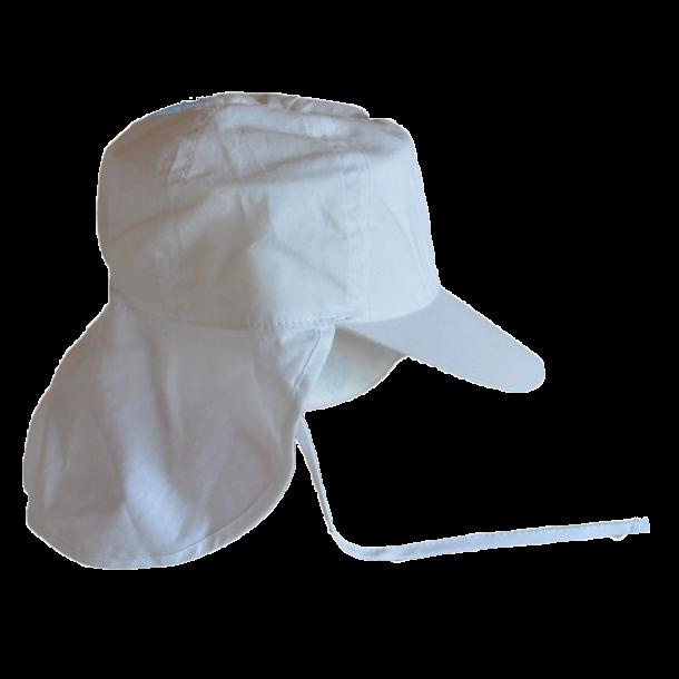 Minymo Sonnenschutzmütze in weiß