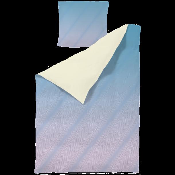 PYTT Living Bettwäsche  - WAWES in blau/pink, Erwachsen