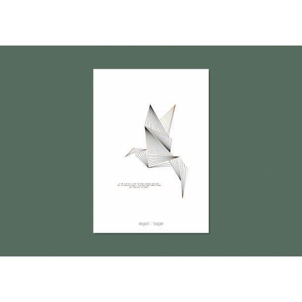 Nørgaard | Nørgaard - Der Vogel, A3 Plakat
