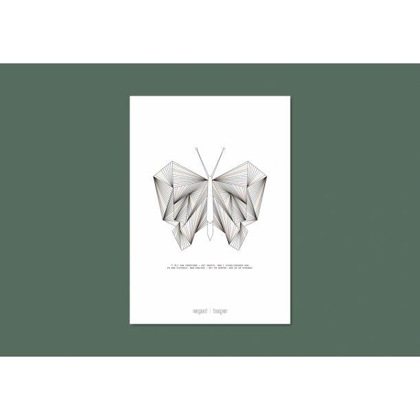 Nørgaard   Nørgaard - Der Schmetterling, A3 Plakat
