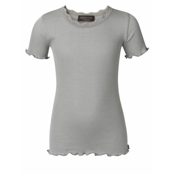 Rosemunde T-shirt in schöones Seide-Baumwolle -  Vintage olivengrün