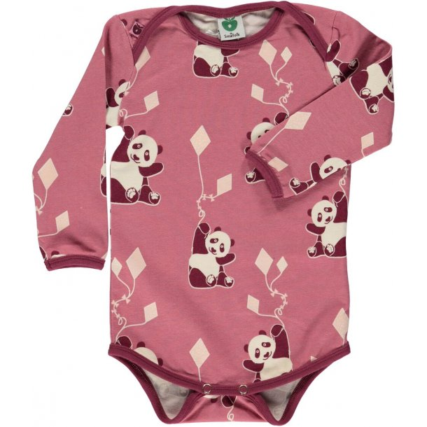 Smafolk Body in Rosa mit Pandas