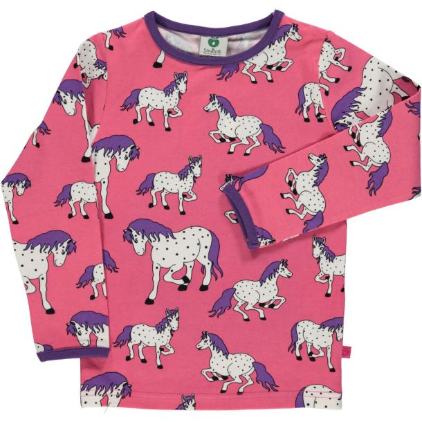 Smafolk Shirt in hellrot mit