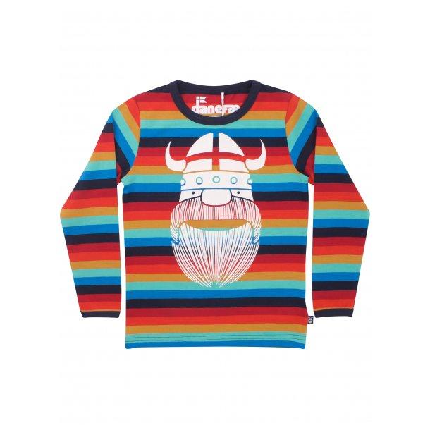 Danefae - Schönes Shirt mit frischen Streifen und Wiking Erik