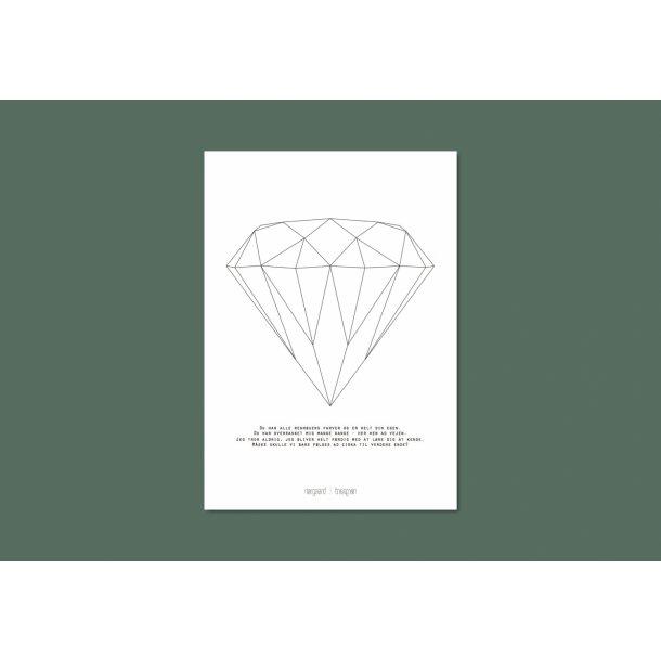 Nørgaard | Nørgaard - Der Diamant, A3 Plakat