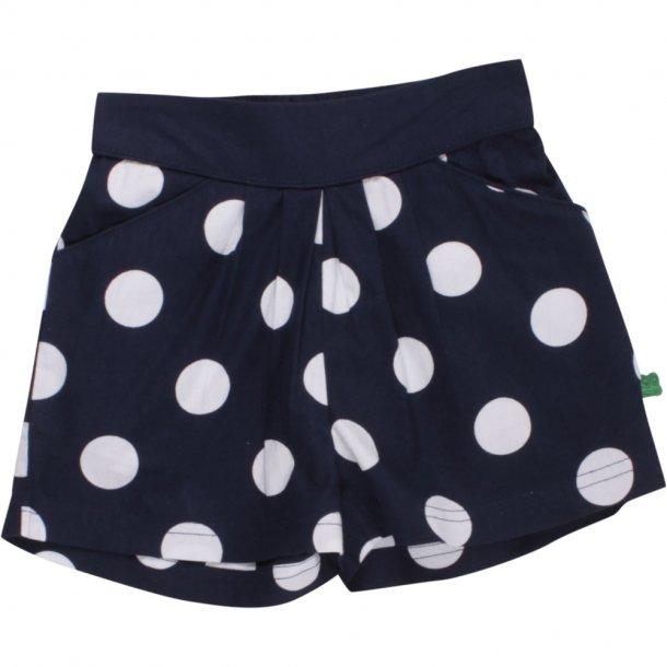 Fred's World POPLIN Shorts - Navy mit Weiße Punkte