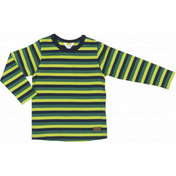 Happy Calegi  ESSO Shirt, grün gestreiften