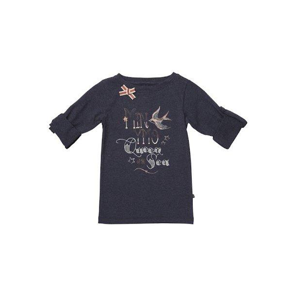 Hübsche navy LA -Shirt mit Print