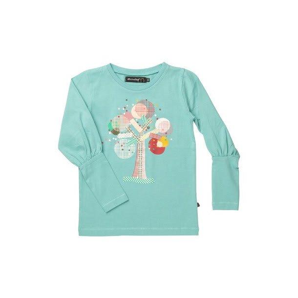 Hübsche grüne LA T-Shirt mit Print