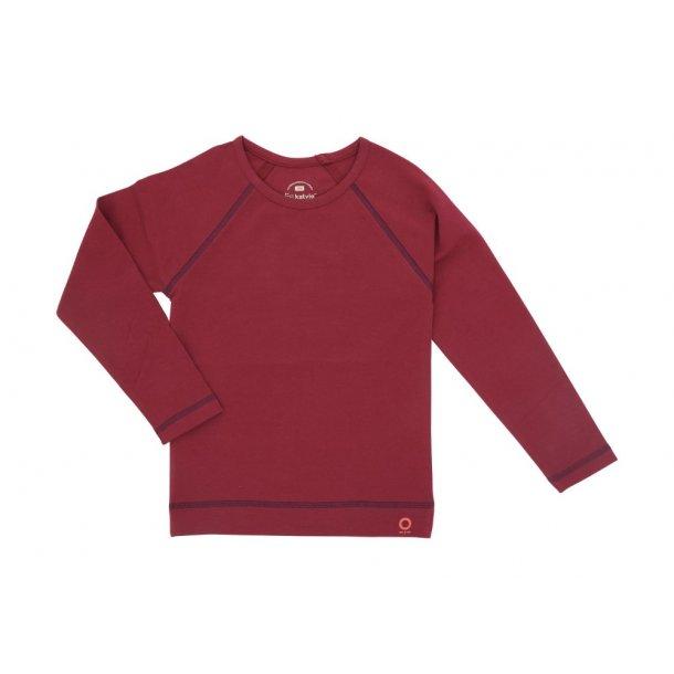 Schönes Anemone-färbender Bio-Shirt