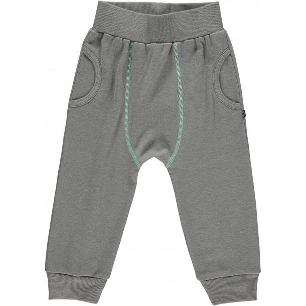SchöneWeiche Bio-Baggy-Hosen, grau