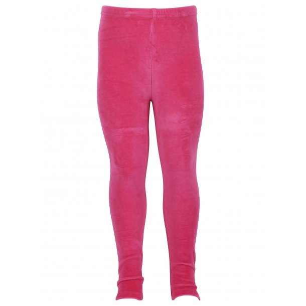 Schöne Velourleggings in pink aus Danefae