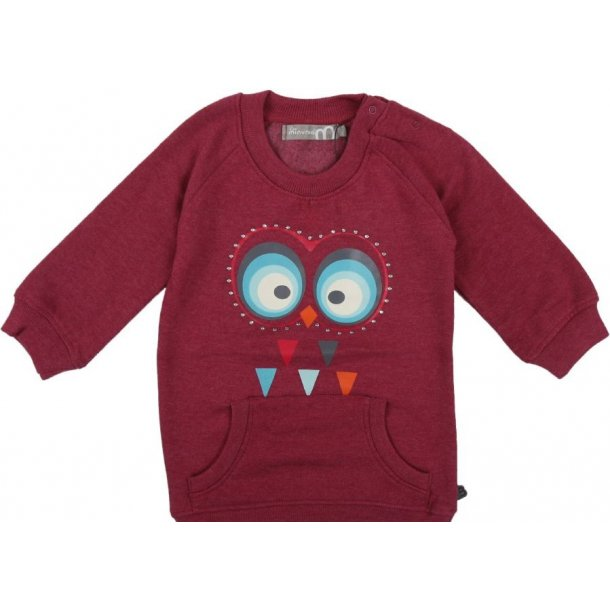 Minymo - Weiches Sweatshirt in Bordeaux