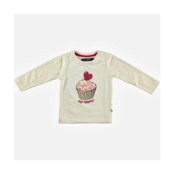 Hübsches off-white LA- Shirt mit Cup Cake