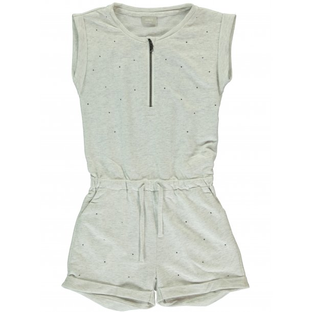 HALULLU shorts jumpsuit in hell grau von Name it