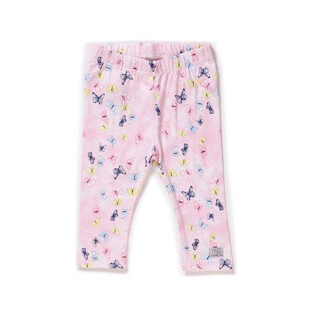 Süße Leggings in rosa mit Schmetterlingen von Name it