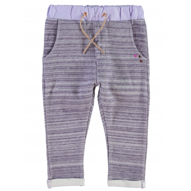 PURPLE HEATHER sweat Hosen - Von Name it