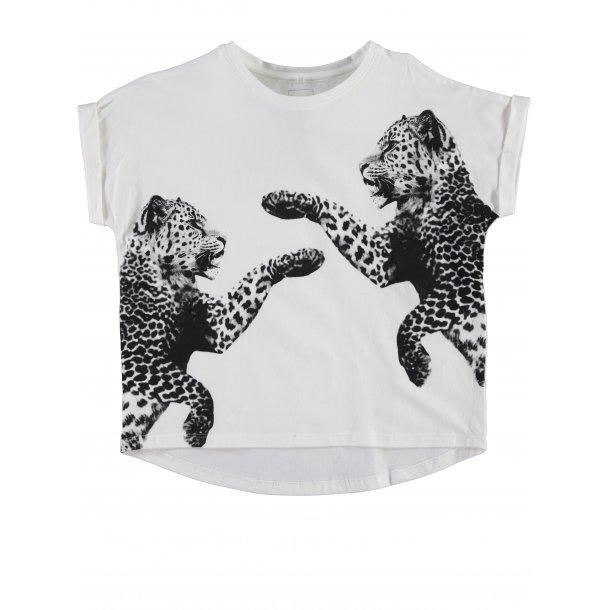 ninNATHALIE oversize Top/T-shirt Mit Leoparden - Von Name it