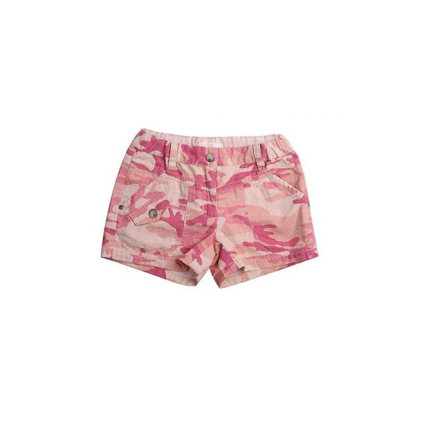 Shorts in schick pink Camouflage Muster