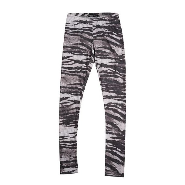 Tolle Leggings in graue, schwarz und weiss Muster