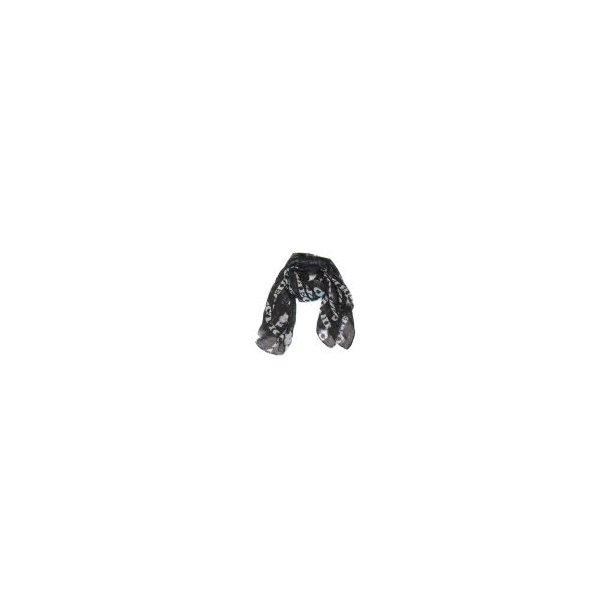 One Direction Schal in schwarz und weiss
