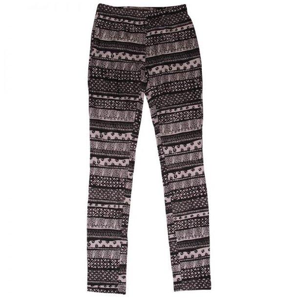 Cool Leggings mit Muster in schwarz und weiß von Frankie & Liberty