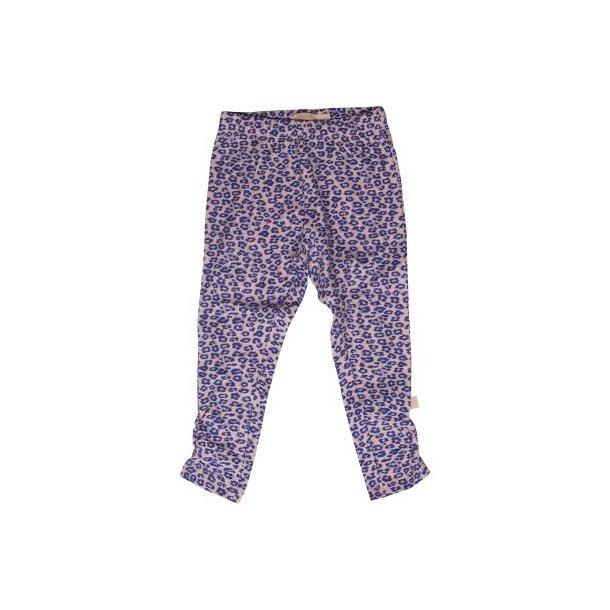Schöne Pluderhosen in rosa mit blau/lila Leopardenmuster
