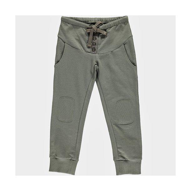 Hosen in cool weich kaki / grau Sweat