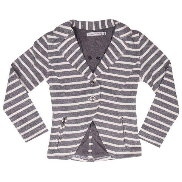 Schönes Blazer in grau und weiß von Frankie & Liberty