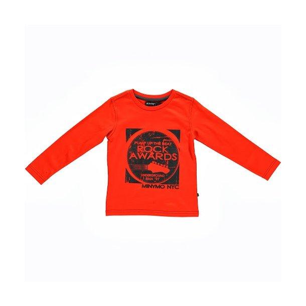 Orange Shirt - mit Rock Awards Print