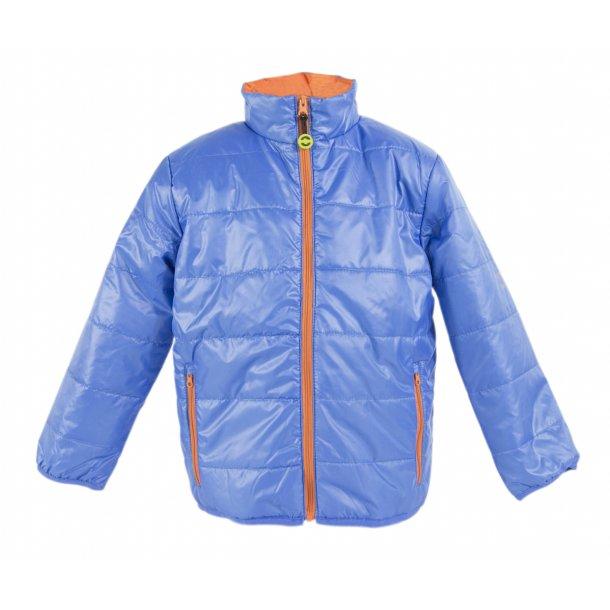 Schöne blaue DUVET gepolsterte leichte Jacke