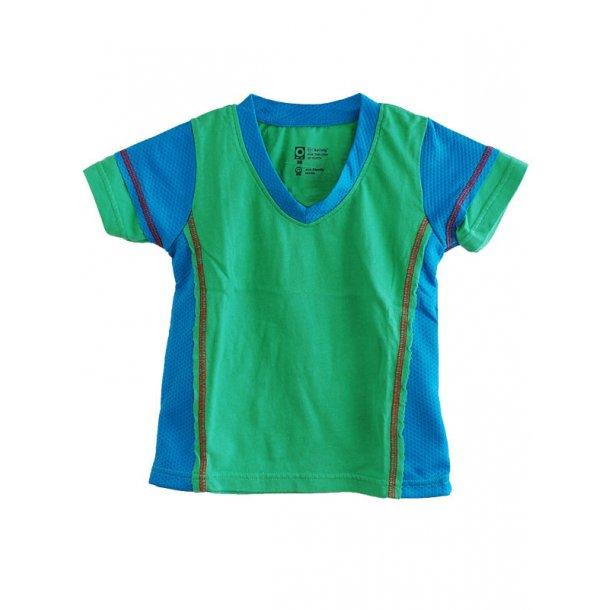 T-Shirt in grün ökologische Baumwolle