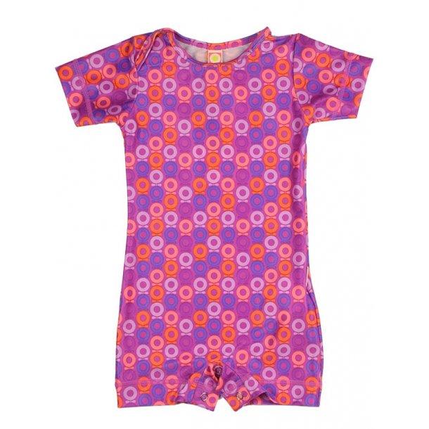 Swimsuit mit UV Schutz, pink, aus recycled Material