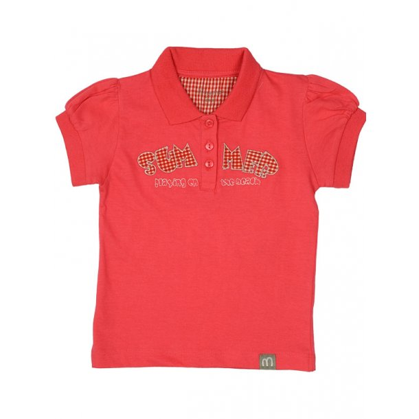 Poloshirt in Rouge Red