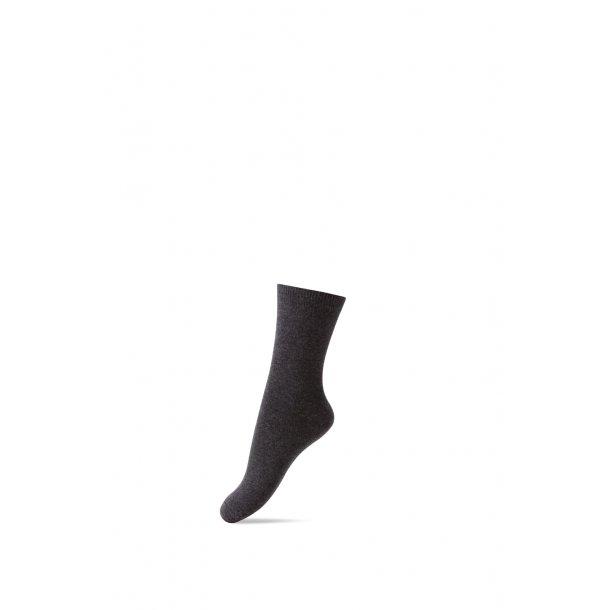 Socken Basic dunkel grau