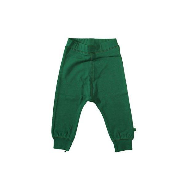 Mollige Jersey Hosen in dunkelgrün - von Småfolk