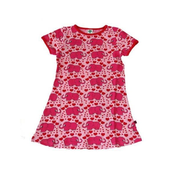 Super süßes rosa Kleid mit pink Elefanten