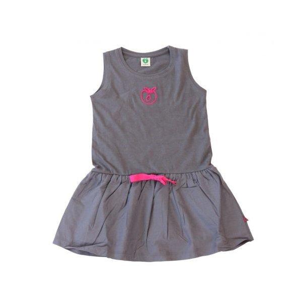 Süßes Sommerkleid in grau