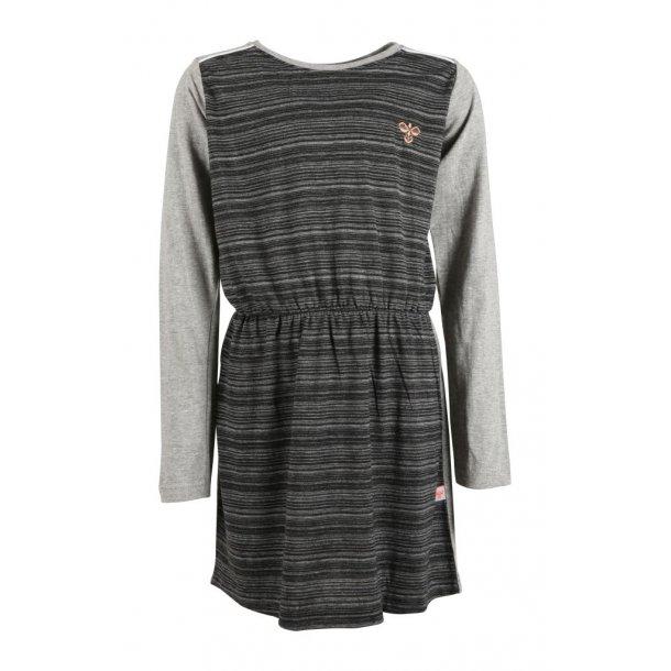 GAYA Dress i grau/hellgrau - von Hummel