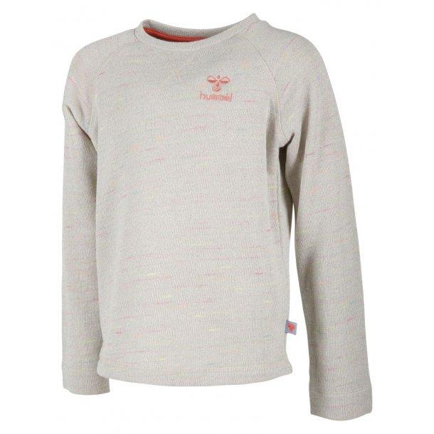 Cooles Shirt in Off-White mit Glitter, von Hummel