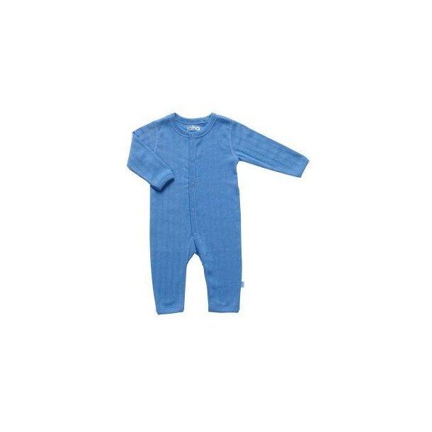 Bio Baby Strampler aus Blaue Baumwolle